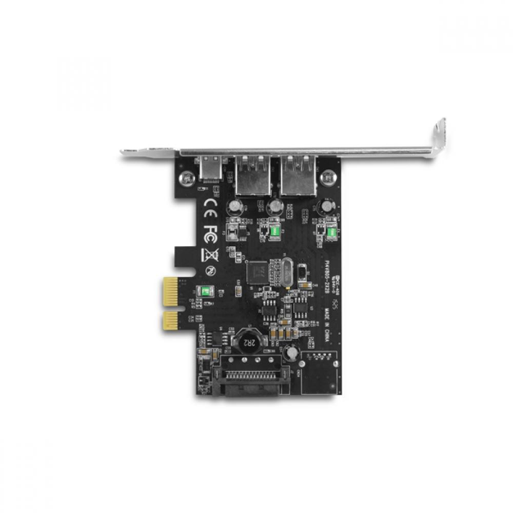 Vantec 3-Port USB 3.0 Type A//C PCIe Host Card